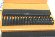 """1-Box of 40 / 2"""" PLASTIC BINDING COMBS (Assorted Colors) (#S7283)"""