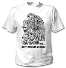 AMERICAN INDIAN PEARL QUOTE 1.  - NEW AMAZING GRAPHIC TSHIRT- S-M-L-XL-XXL