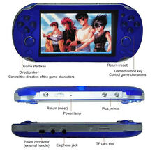 4-128GB TF Card Games Handheld Video Console Game MP3 Player MP4 Player MP5 Toys