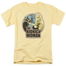 "The Bionic Woman ""Jamie And Max Distressed"" T-Shirt - Adult, Child"