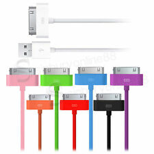 3M LONG LEAD USB DATA SYNC CHARGE CABLE for iPad 1 iPhone 4 4S 3G 3GS iPod Touch