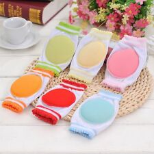 1 Pair To Walk Circular Baby Crawling Sponge Kids Knee Pad Breathable Cotton