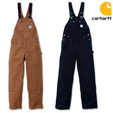 Carhartt Men's Overalls Men Work Trousers Pants Insulated NEW