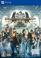 PS4 Dragons Dogma Online Limited Edition Capcom from Japan New Free Shipping