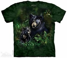 Black Bear & Cub T-Shirt from The Mountain - Adult S - 5X & Child S - XL