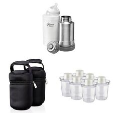 Tommee Tippee Insulated Bottle Bags x 2 Tommee Tippee Travel Food Warmer