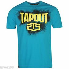 "TapouT ""RUMBLE"" Mens Blue T Shirt NEW UFC MMA Tee"