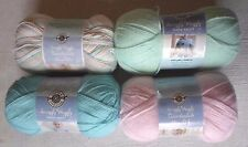LOOPS & THREADS SNUGGLY WUGGLY baby yarn 4 - 5 oz balls, pick from 4 colors