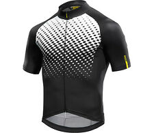 Mavic CosmicGraphic Cycling jersey light short sleeve breathable black/white 17
