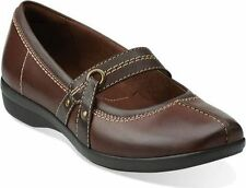 New Womens Clarks Haydn Maize Mary Jane Style 16180 Brown 93L lr