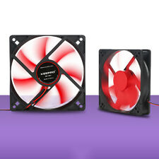 12V 4Pin DC Computer PC Case Cooler CPU Cooling Fan Blue