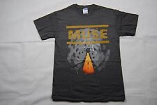 MUSE FADED UPRISING T SHIRT NEW OFFICIAL SHOWBIZ ABSOLUTION BLACK HOLES 2ND LAW