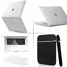 "For Macbook Pro Air 11"" 13"" 12"" Retina Macbook Case+Sleeve Bag+BLK Keyboard Skin"