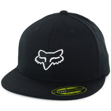 "Fox Head Racing ""The Steez"" 210 Fitted Hat (Black) Men's Stretch Cap"