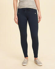 Abercrombie & Fitch – Hollister Womens Fleece Leggings Track Pants XS S Navy NWT