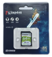 Kingston SD 8GB 16GB 32GB 64GB SDHC/XC Class10 Memory Card f.Canon Nikon SD10VG2