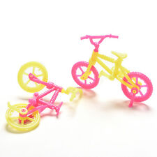 2/5/10Pcs Bicycles Bikes Mini Toy for Barbie Accessories Girls Birthday Gift  FO