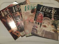 Victoria Magazine Back Issues 1991 1992 1993 1994 1995 1996 1997 1998 & 1999