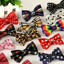 Kids Boys Children Satin Wedding Party Adjustable PreTied Bow Tie Lovely Gifts