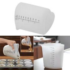 Ovenproof Heart Shape Measuring Cup Silicone Cake Baking Pour Measuring Cup