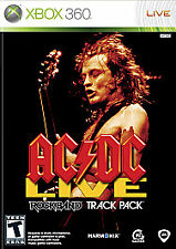 AC/DC Live: Rock Band Track Pack (Microsoft Xbox 360, 2008) New/Factory Sealed