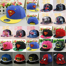 Movie Characters School Kids Hip Hop Baseball Cap Sun Snapback Outdoor Hat Camp