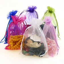 50pcs Organza gift Bags Wedding Candy Favour Jewelry Pouch 10*15cm Wedding Favor
