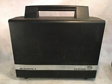 Vintage Dukane Micromatic II Film Projector Model 28A81 w/ Case & Wired Remote