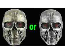 Terminator Salvation Airsoft Protective Wire Mesh Mask Masquerade adult Men Prop