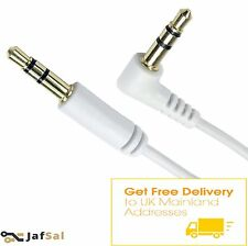 HQ 3.5mm Stereo Jack to Jack Headphone Headset Cable Gold/Aux/MP3/ New Wire UK