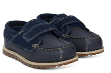 Timberland Toddler A1JUS Pokey Pine Hook-and-Loop Oxford Navy Shoes