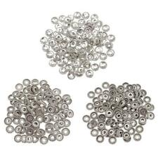 100pcs Tibetan Silver Spacer Beads Retro Loose Beads DIY Jewelry Accessories