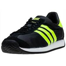 adidas Country Og Mens Trainers Black Lime New Shoes