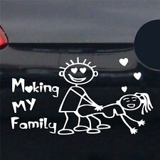 Making My Family Auto Decal Graphics Stickers Decals Waterproof Car Sticker AU
