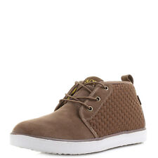 Mens Hey Dude Shoes Terni Brown Suede Chukka Ankle Boots Shu Size