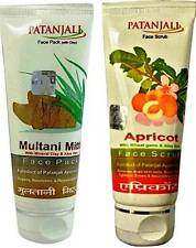 Patanjali   Face Pack   Scrub   60 Gm   Multani Pack   Apricot Scrub   Skin Care
