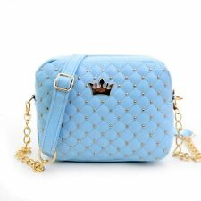 Women Polyester Material Zipper Cell Phone Pocket Stylish Five Color Handbag
