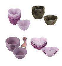Lurch Small Pastry Muffin Form Heart Tortelett Baking Tin Silicone Cup Cake