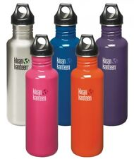 Klean Kanteen 27 oz Classic with Loop Cap - 532/800ml Drinking Bottle Sports