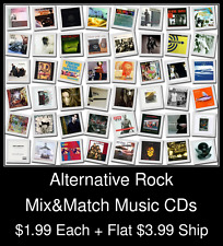 Alternative Rock(2) - Mix&Match Music CDs @ $1.99/ea + $3.99 flat ship