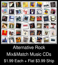 Alternative Rock(4) - Mix&Match Music CDs @ $1.99/ea + $3.99 flat ship