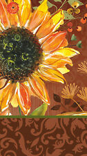 Cypress Home Sunflower Blooming Paper Guest Towel, 15 count