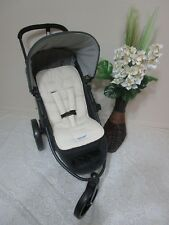 FUNKY BABYZ-Ivory universal pram/car seat liner-Options-size & buy covers.