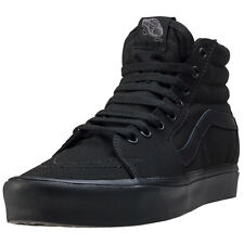 Vans Sk8-hi Lite Womens Trainers Black Black New Shoes