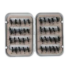 40 Pieces Fly Fishing Lure Set Artificial Insect Bait Trout Flies Ant Baits