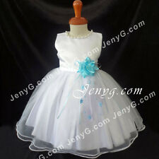 NLSB6 Baby Infants Christening Holiday Birthday Party Formal Pageant Dress Gown