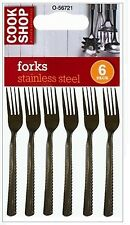 6X 12X 18X 24X STAINLESS STEEL CUTLERY DINING TABLE FORKS DINNER FORKS NEW UK