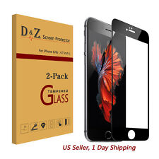 """HOT 2x Full Coverage 9H Tempered Glass Film Screen Protector for iPhone 6s 4.7"""""""