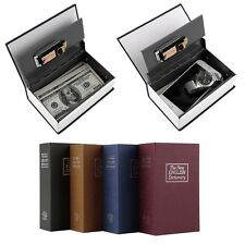 Simulation Dictionary Security Book Case Cash Money Jewelry Storage Box VE