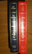 TWO READERS DIGEST CONDENSED BOOKS, 1ST EDITIONS, 1972 VINTAGE, ILLUSTRATED